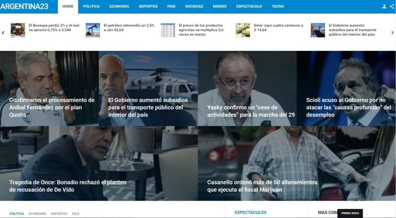 Diseño web diario online