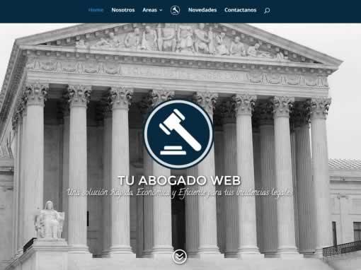 diseño web para abogados – Tuabogadoweb.com