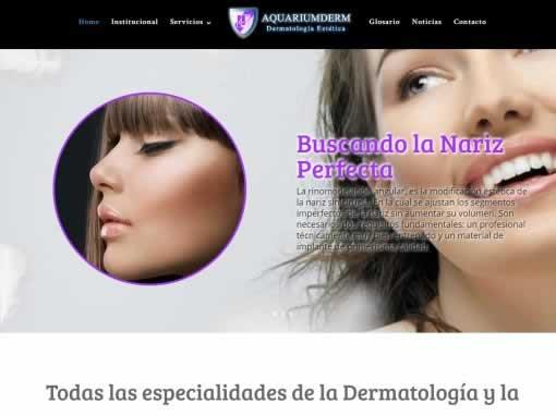 sitio web dermatologia – aquariumderm