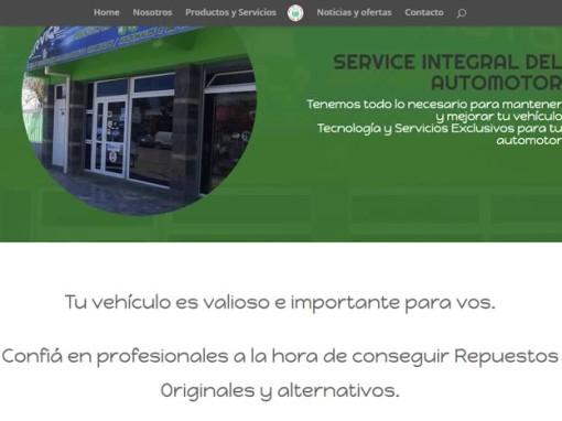 Diseño Web Casa de Repuestos en Río Negro Argentina