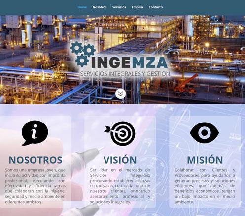 Pagina Web Ingenieria Industrial