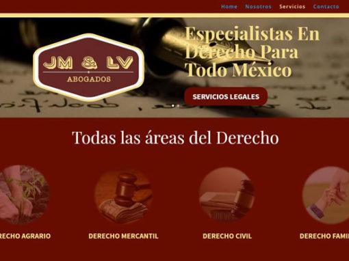 Diseño web para abogados México. Diseño Web Profesional