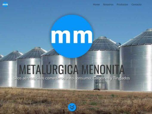 Publicidad venta de silos Diseño web La pampa