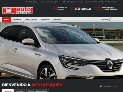 Diseño Web Concesionaria Agencia Automotores