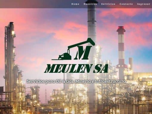 Sitio Web Empresa Servicios Oil and Gas