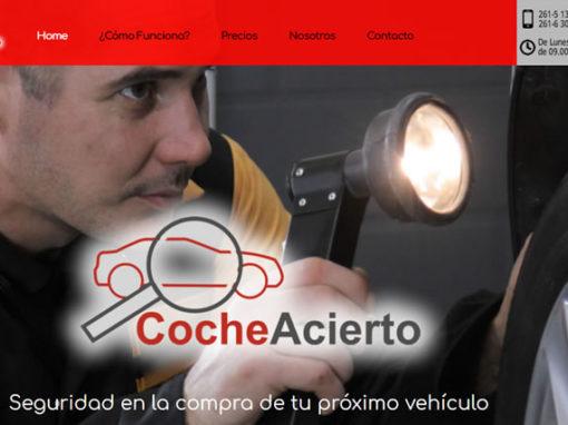 Diseño Web para empresa de Servicios automotrices